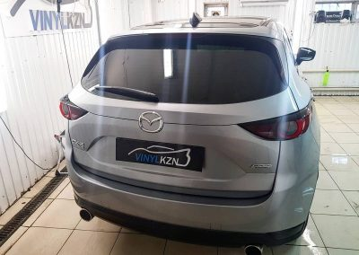 Mazda CX-5 — оклейка крыши, часть спойлера и плавника