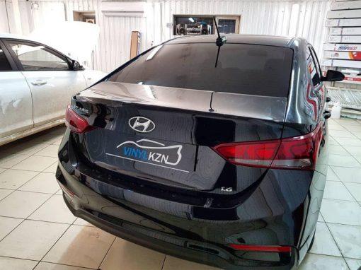 Hyundai Solaris — бронирование кузова антигравийной пленкой
