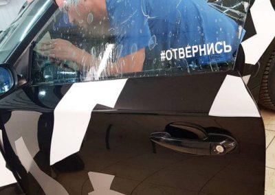 Затонировали боковые стекла, добавили 50% затемнения, использовав пленку UltraVision SUPREME Thermo — BMW 1