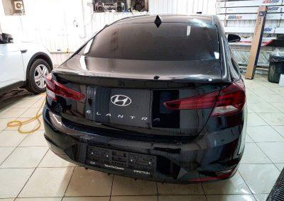 Тонировка NDFOS 95% — автомобиль Hyundai Elantra