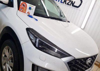 Установили на Hyundai Tucson сигнализацию шестого поколения Starline S96