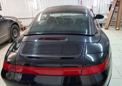 Porsche 997 — тонировка фар автомобиля