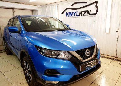 Nissan Qashqai — бронирование капота полиуретановой пленкой