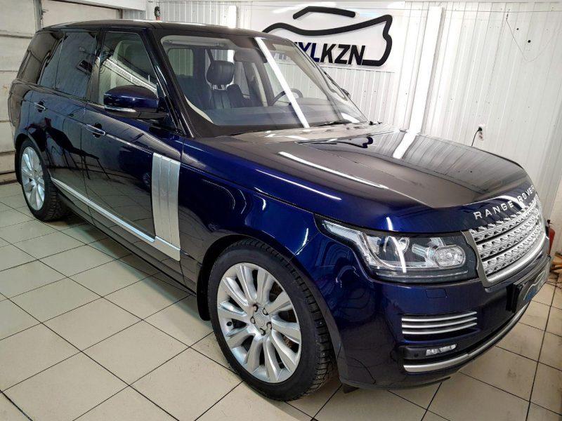 Range Rover Vogue — полировка кузова автомобиля, нанесение защитного состава от компании GYEON, бронирование кузова
