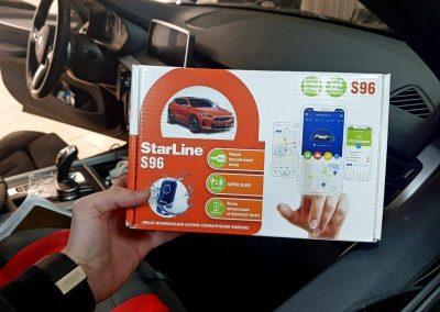 Охранный комплекс Starline S96 BT GSM на автомобиль BMW X5