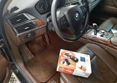 Поставили Starline S96 BT GSM на BMW X5