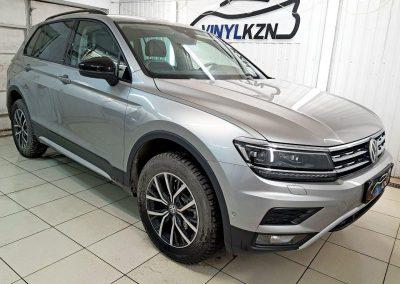 VW TIGUAN — бронирование полиуретановой пленкой Hexis Bodyfance
