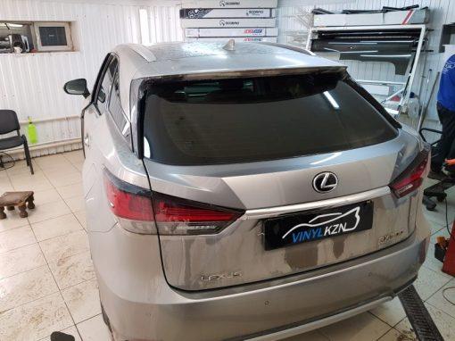 Lexus RX — установили омыватель камеры заднего вида, тонировка задней части пленкой Llumar ATR
