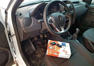 Сертифицированная установка сигнализации Starline A93 с сохранением гарантии на автомобиль Renault Duster