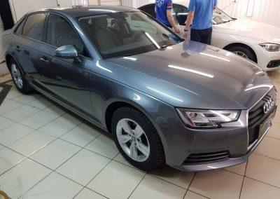 Audi A4 — бронирование кузова автомобиля Oraguard и тонировка стекол пленкой Llumar