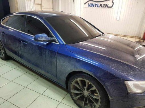Audi А5 — тонировка всех стекол авто пленкой ULTRAVISION SUPREME THERMO