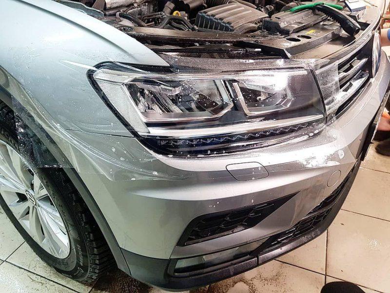 VW TIGUAN — бронирование кузова автомобиля и тонировка стекол пленкой JOHNSON Marathon 05