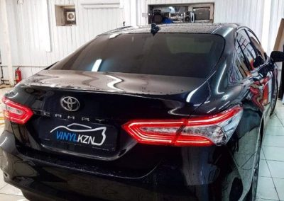 Toyota Camry — тонировка стекол автомобиля пленкой Llumar
