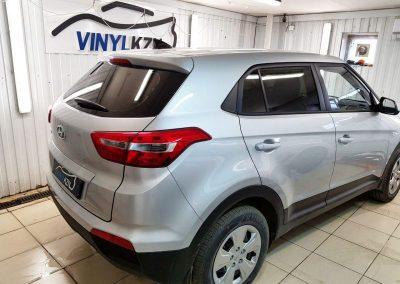 Hyundai Creta — до конца марта тонировка пленкой Llumar ATR автомобилей среднего класса 3500 р