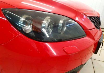 Mazda 3 — тонирование оптики виниловыми и полиуретановыми пленками
