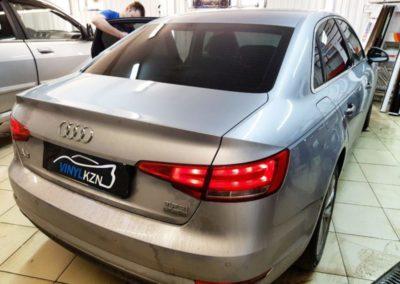 Audi A4 — затонировали заднюю пленкой ULTRAVISION SUPREME THERMO