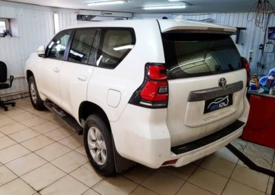 Toyota Land Cruiser Prado — тонировка стекол автомобиля пленкой SunTek Infinity 90%
