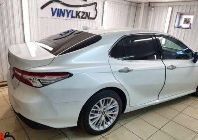 Toyota Camry — затонировали заднюю часть пленкой премиум качества Llumar ATR