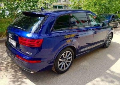 Audi Q7 — полировка и нанесение керамического состава