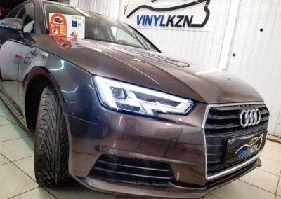 Установлена на Audi A4 автосигнализации с управлением с телефона Starline S96 BT GSM
