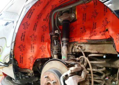 Toyota Camry — качественная и надежная шумоизоляция арок