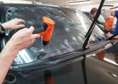 Бронирование лобового стекла на Lexus LX 570