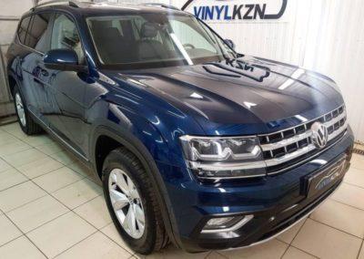 VW Teramont — бронирование кузова автомобиля полиуретановой пленкой