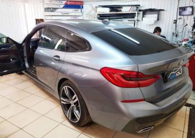 BMW 6 GT — тонировка стекол пленкой Llumar ATR