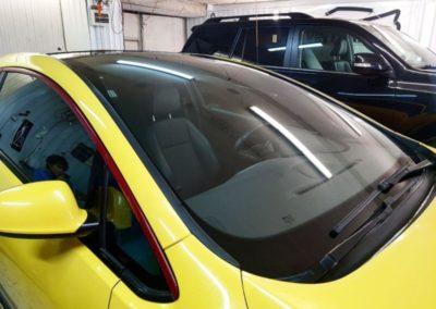 Бронирование лобового стекла автомобиля Opel Astra J