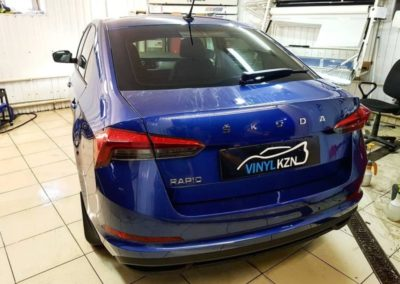 Skoda Rapid — бронирование кузова автомобиля и тонировка стекол пленкой Llumar