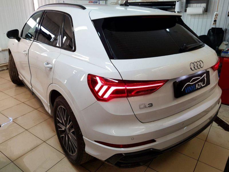 Audi Q3 — затонировали заднюю часть пленкой Carbon HP с затемнением в 95%