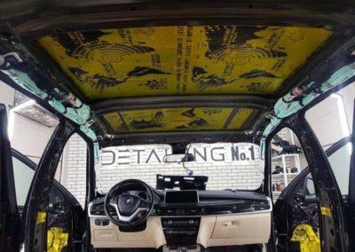 Шумоизоляция всего салона автомобиля BMW X5 F15