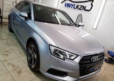 Audi A3 — тонировка стекол автомобиля пленкой UltraVision 65%