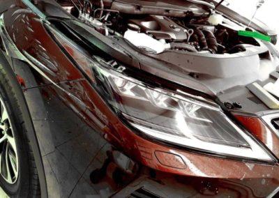 Lexus RX300 — бронирование капота и фар, тонировка стекол