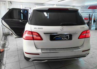 Mercedes ML — тонировка стекол пленкой UltraVision 95%