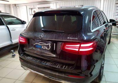 Mercedes GLC — затонировали заднюю часть автомобиля премиальной пленкой Llumar ATR