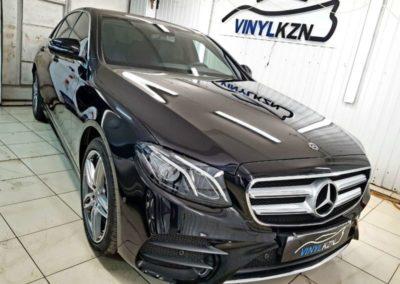 Mercedes E Class — легкая полировка и нанесение керамического покрытия