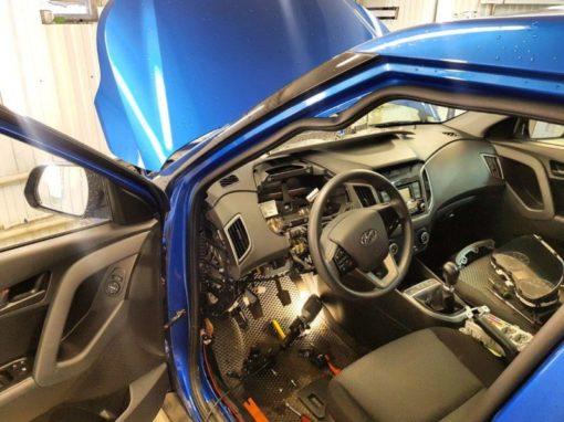 Hyundai Creta — сертифицированная установка сигнализации Starline A93 с сохранением гарантии