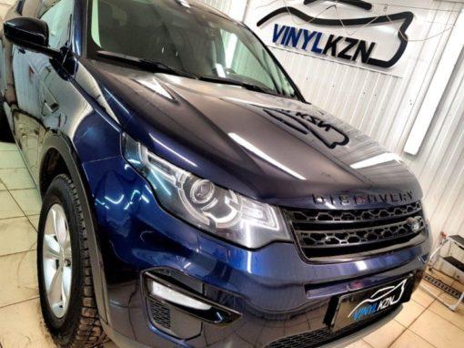 Land Rover Discovery Sport — бронирование лобового стекла, полировка царапин на бампере