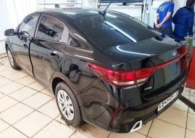 Kia Rio — тонировка стекол автомобиля пленкой UltraVision