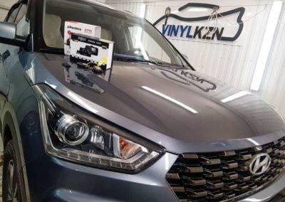 Установили регистратор и сигнализацию Pandora с управлением с телефона — Hyundai Creta