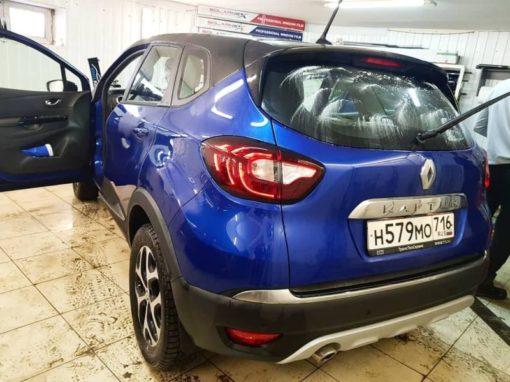 Renault Kaptur — тонировка стекол автомобиля пленкой Llumar