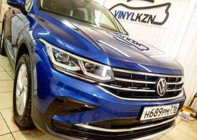 VW TIGUAN — забронировали капот полиуретановой пленкой сроком службы 5 лет