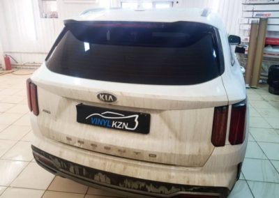 Kia Sorento — тонировка стекол автомобиля пленкой UltraVision