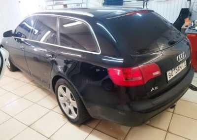 Audi A6 — тонировка всех стекол кроме лобового пленкой ULTRAVISION 95%