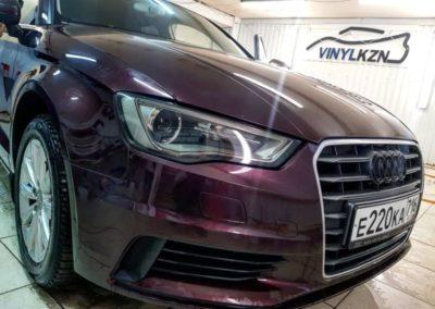 Легкая тонировка оптики на Audi A3