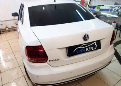 Тонирование премиальными пленками Llumar 95% — VW Polo