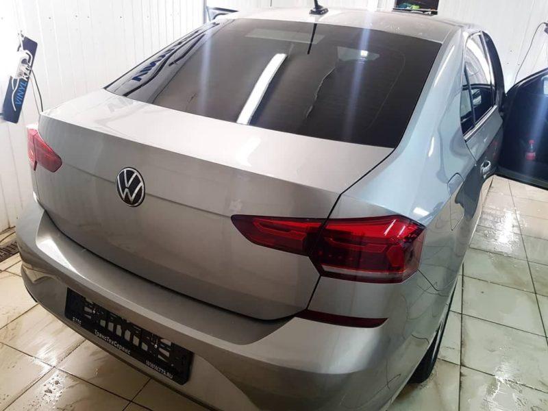 VW POLO — тонировка стекол пленкой Ultra Vision