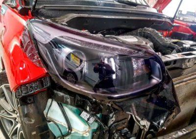 Kia Soul — затемнение фар автомобиля