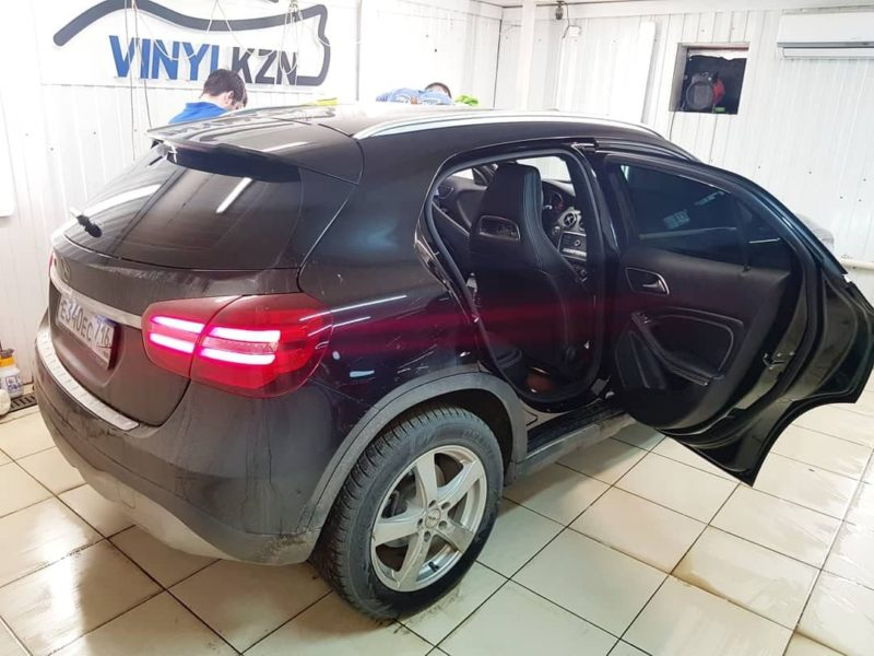 Mercedes GLA — тонировка стекол пленкой UltraVision